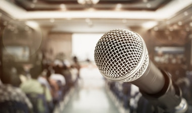 Microphone - Employee Performance Management TED Talks.