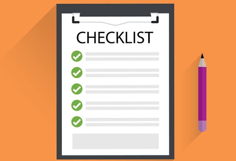 Performance management checklist