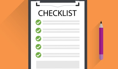 Performance management checklist