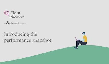 Thumbnail introducing the performance snapshot
